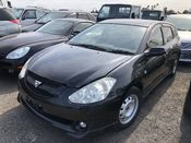 front photo of car AZT246 - 2004 Toyota CALDINA 4WD - BLACK