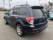 back photo of car SH5 - 2008 Subaru FORESTER  - BLACK