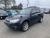 front photo of car SH5 - 2008 Subaru FORESTER  - BLACK