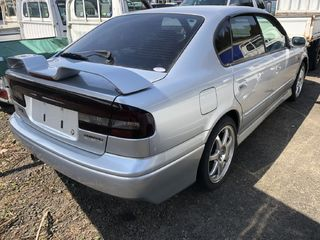 back photo of car BE5 - 2002 Subaru LEGACY B4 - SILVER