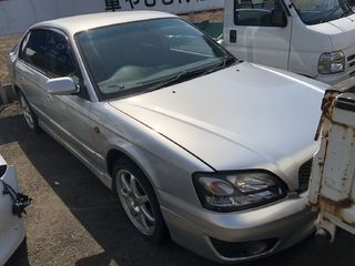 front photo of car BE5 - 2002 Subaru LEGACY B4 - SILVER