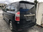 back photo of car ZRR75 - 2010 Toyota NOAH  - BLACK