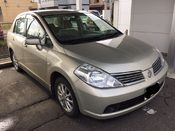 front photo of car SC11 - 2005 Nissan TIIDA LATIO 15S - SILVER