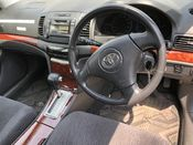 interior photo of car ZZT240 - 2003 Toyota PREMIO A18 G PACKAGE LTD - GREY