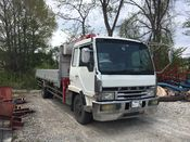 front photo of car FK418K - 1992 Mitsubishi FUSO FIGHTER  - WHITE