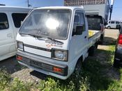 front photo of car DB71T - 1989 Suzuki CARRY TRUCK 4WD - WHITE