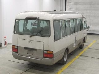 back photo of car HDB50 - 1999 Toyota Coaster マイクロバス - custom