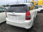 back photo of car ANE11 - 2003 Toyota WISH Z - PEARL WHITE