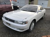 front photo of car JZX93 - 1994 Toyota CHASER AVANTE FOUR - WHITE