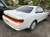 back photo of car JZX93 - 1994 Toyota CHASER AVANTE FOUR - WHITE