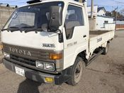 back photo of car BU88 - 1990 Toyota DYNA   - WHITE
