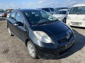 front photo of car KSP90 - 2010 Toyota VITZ B S EDITION - BLACK